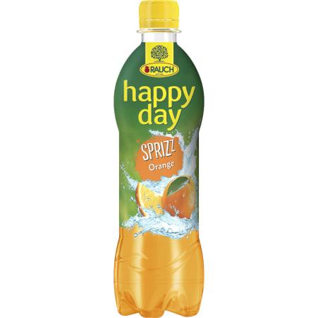 Rauch Happy Day Orange gespritzt 0,5 Liter