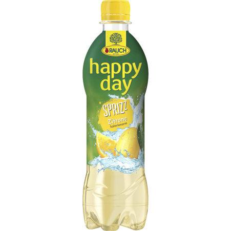 Rauch Happy Day Lemon gespritzt 0,5 Liter