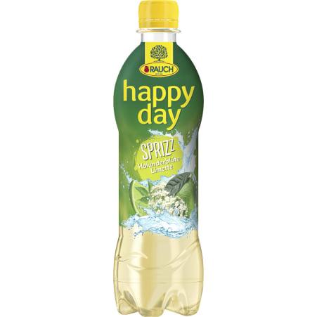 Rauch Happy Day Holunder-Limette gespritzt 0,5 Liter