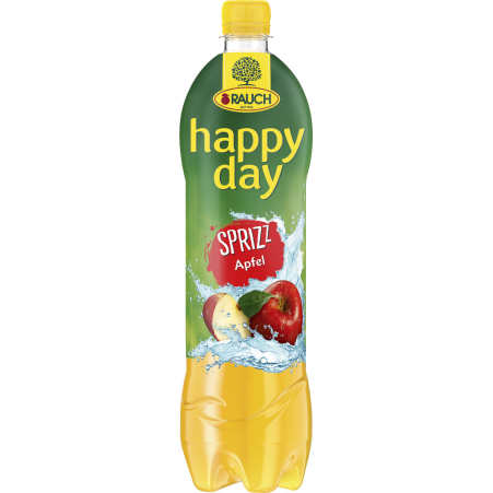 Rauch Happy Day Apfelsaft Gespritzt 6er-Tray