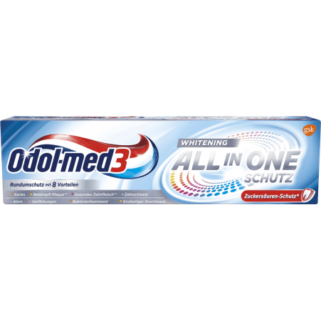 Odol-med 3 Zahnpasta All In One Whitening