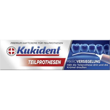 Kukident Haftcreme Premium Teilprothesen