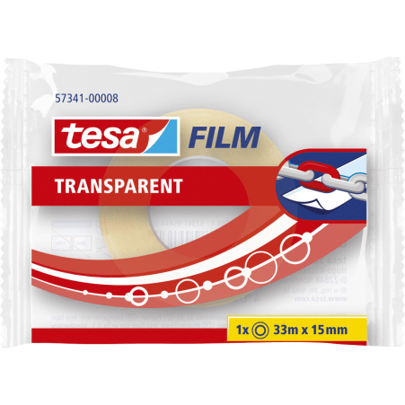 tesafilm® Einzelrolle Transparent