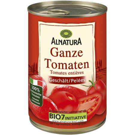 Alnatura Bio Ganze Tomaten geschält