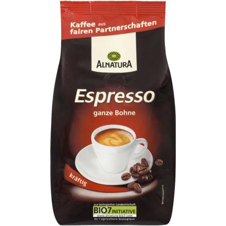 Alnatura Bio Espresso ganze Bohne kräftig