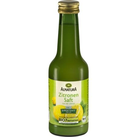 Alnatura Bio Zitronen Direktsaft 0,2 Liter