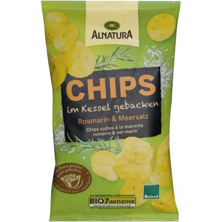 Alnatura Bio Chips Rosmarin & Meersalz