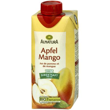 Alnatura Bio Apfel-Mango Saft 0,33 Liter