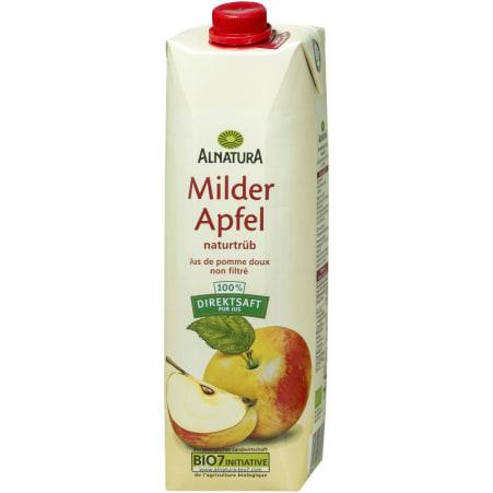 Alnatura Bio Apfelsaft mild naturtrüb 1,0 Liter
