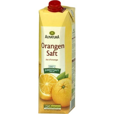 Alnatura Bio Orangen Direktsaft 1,0 Liter