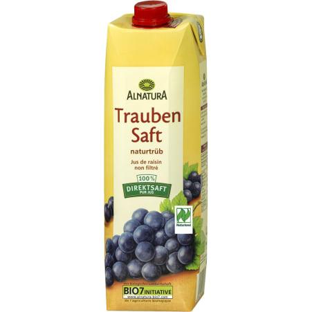 Alnatura Bio Traubensaft naturtrüb 1,0 Liter