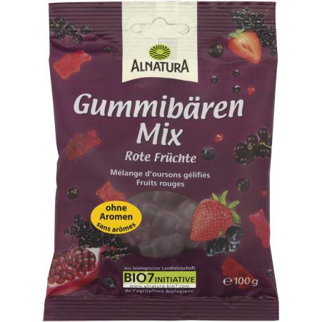 Alnatura Bio Gummibären Mix Rote Früchte