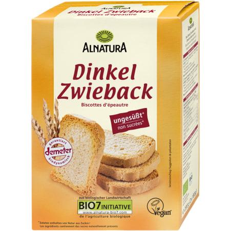 Alnatura Bio Dinkel Zwieback ungesüßt