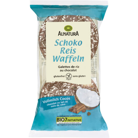 Alnatura Bio Schoko Reiswaffeln Cocos-Vollmilch