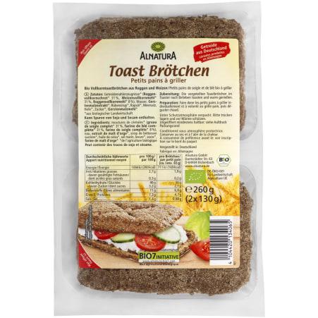 Alnatura Bio Toast Brötchen