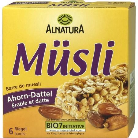 Alnatura Bio Ahorn-Dattel Müsliriegel