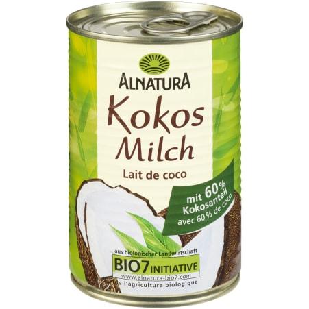 Alnatura Bio Kokosmilch 0,4 Liter