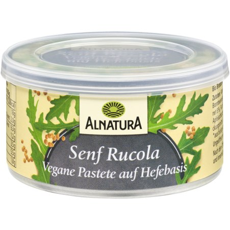 Alnatura Bio Senf-Rucola Pastete