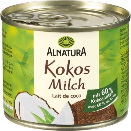 Alnatura Bio Kokosmilch 0,2 Liter