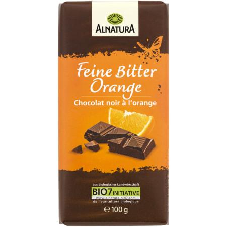Alnatura Bio Schokolade Feine Bitter Orange