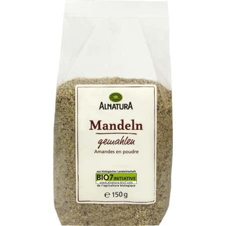Alnatura Bio Mandeln gemahlen 150 gr