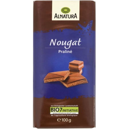 Alnatura Bio Schokolade Nougat Praliné