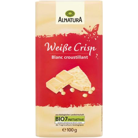 Alnatura Bio Schokolade Weiße Crisp