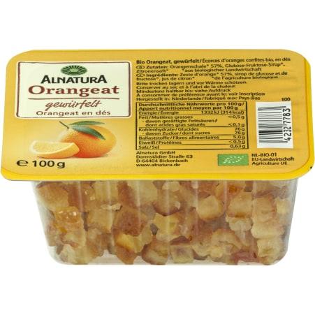 Alnatura Bio Orangeat gewürfelt
