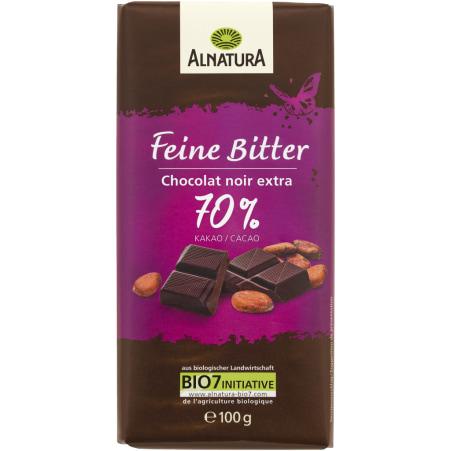 Alnatura Bio Schokolade Feine Bitter Douce amertume