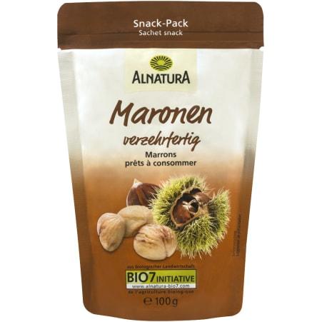 Alnatura Bio Maronen verzehrfertig
