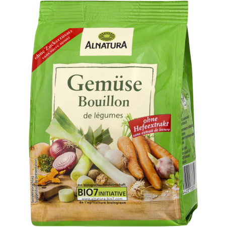 Alnatura Bio Gemüse Bouillon hefefrei