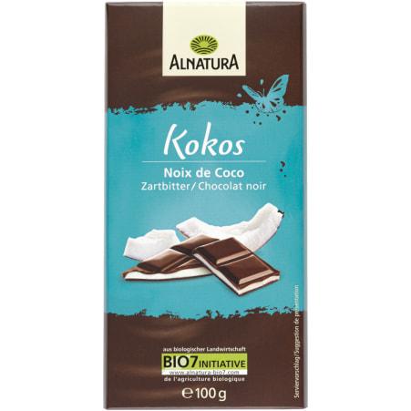 Alnatura Bio Kokos Zartbitter Schokolade