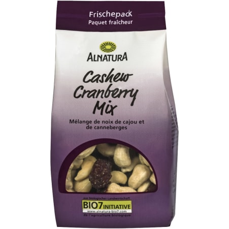 Alnatura Bio Cashew-Cranberry Mix