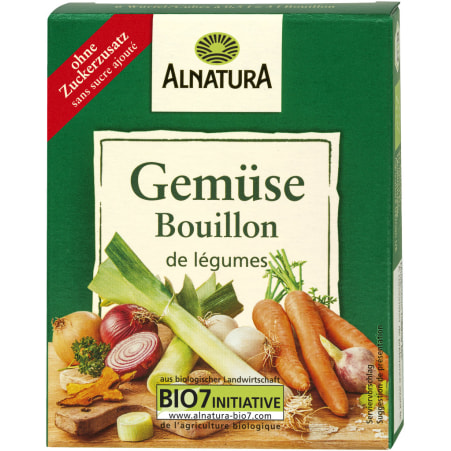 Alnatura Bio Gemüsebouillon Würfel