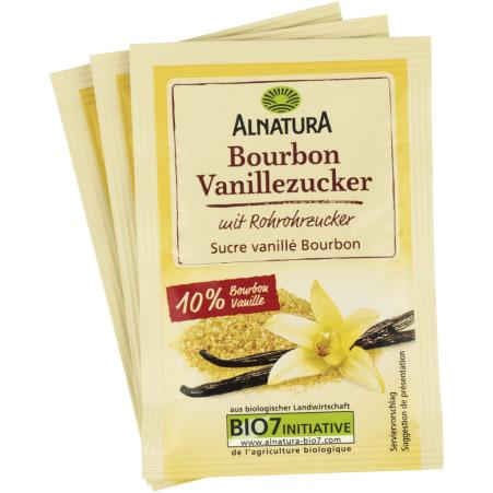 Alnatura Bio Bourbon Vanillezucker 3er-Packung