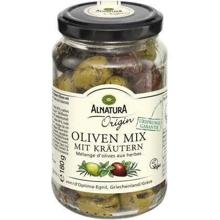 Alnatura Bio Origin Oliven Mix mit Kräutern