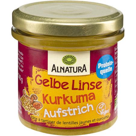 Alnatura Bio Gelbe Linse-Kurkuma Aufstrich