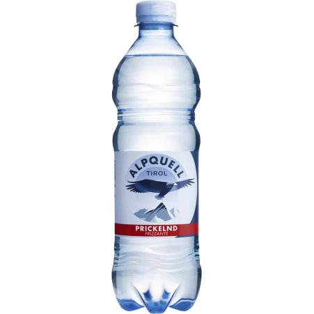 ALPQUELL Mineralwasser prickelnd Tray 6x 0,5 Liter