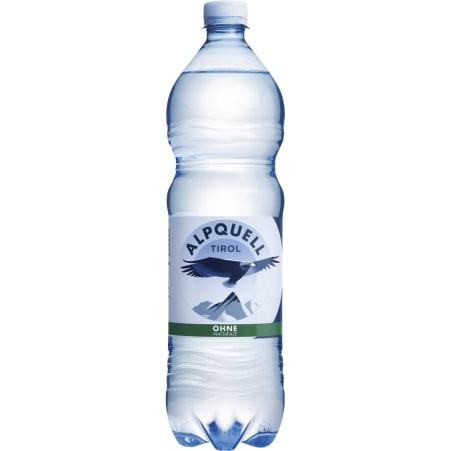 ALPQUELL Mineralwasser ohne Kohlensäure Tray 6x 1,0 Liter
