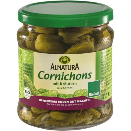 Alnatura Bio Cornichons mit Kräuter