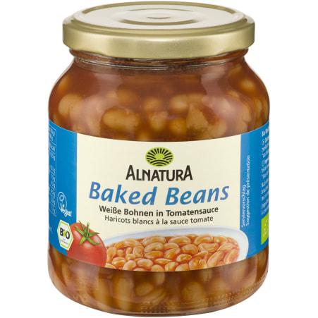 Alnatura Bio Baked Beans Weiße Bohnen in Tomatensauce