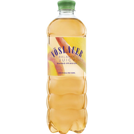 Vöslauer Balance Mango-Pfirsich Tray 6x 0,75 Liter