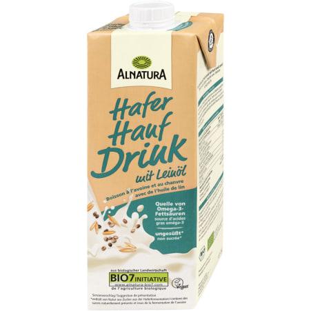 Alnatura Bio Hafer-Hanf Drink mit Leinöl 1,0 Liter