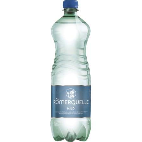 Römerquelle Mineralwasser Classic mild 1,0 Liter