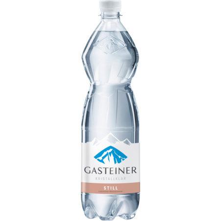 Gasteiner Kristallklar Mineralwasser still 1,0 Liter