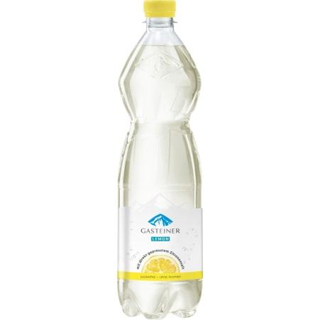 Gasteiner Kristallklar Mineralwasser Lemon 1,0 Liter