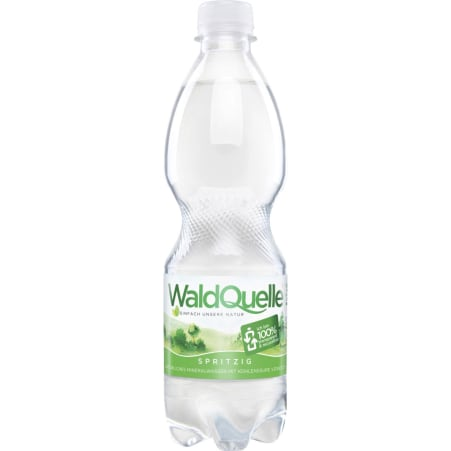 Waldquelle Mineralwasser spritzig 0,5 Liter