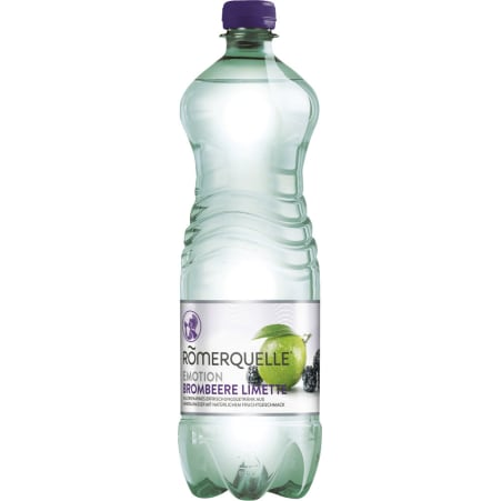 Römerquelle Brombeer-Limette 1,0 Liter