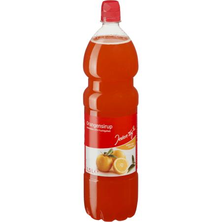 Jeden Tag Sirup Orange 1,5 Liter