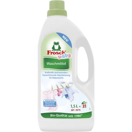 Frosch Waschmittel Baby flüssig 21 Waschgänge